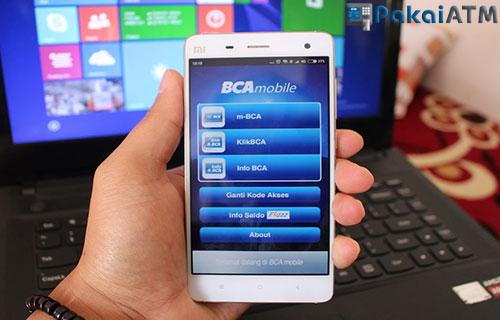 Cek dengan Mobile Banking BCA