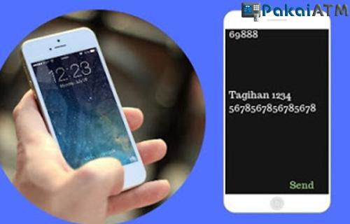 Cek dengan SMS