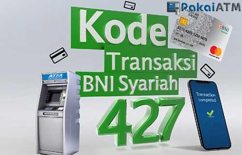 Kode Bank BNI Syariah di ATM