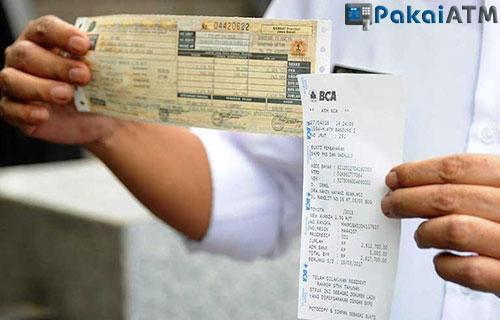 Langkah langkah Sebelum Bayar Pajak Lewat ATM BCA