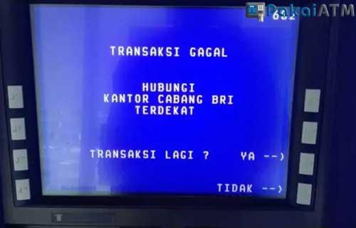 Apa yang Terjadi Ketika ATM Disabled