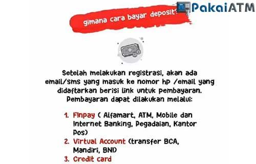 Cara Bayar Deposit Indihome Lewat ATM BCA