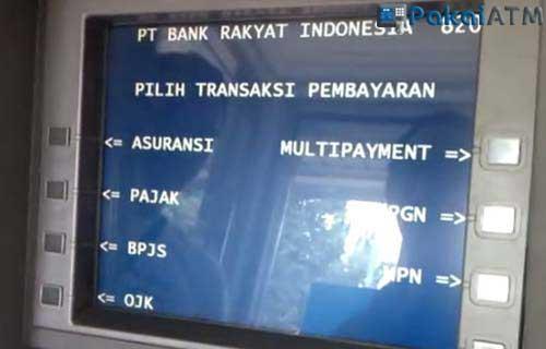 Cara Bayar Deposit Indihome Lewat ATM BRI