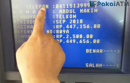 Cara Bayar Deposit Indihome Lewat ATM Mandiri