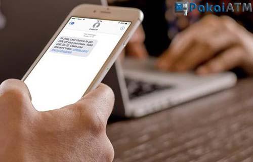 Cara Transfer BRI SMS Banking Sesama BRI