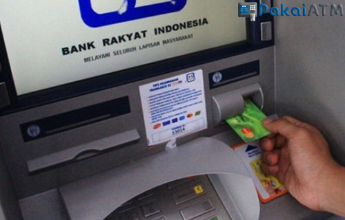 Top Up dari ATM BRI