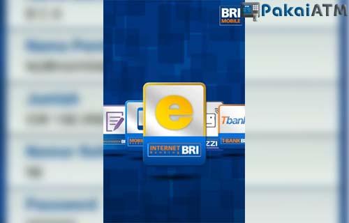 pilih internet banking bri