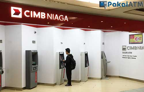 1. Melalui ATM