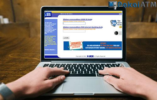 3. Melalui Internet Banking BCA