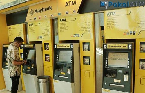 Cara Bayar DANA Kini Lewat Mesin ATM BII Maybank