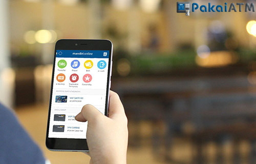 Cek Lewat Mandiri Online M Banking