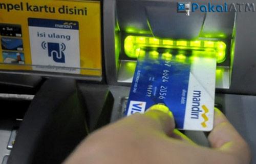 Cek Lewat Mesin ATM