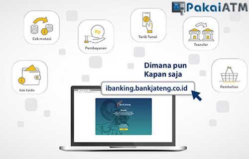 Fitur yang Tersedia di Internet Banking Bank Jateng