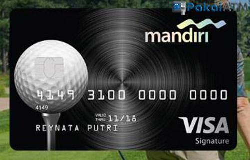 Kartu Kredit Mandiri Golf