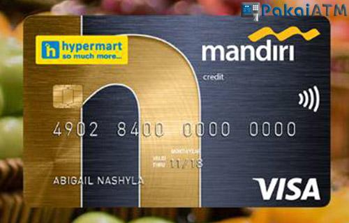 Kartu Kredit Mandiri Hypermart Terbaik