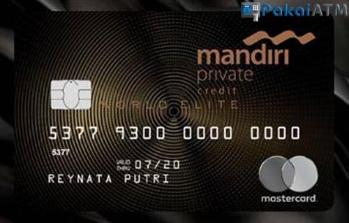 Kartu Kredit Mandiri World Elite
