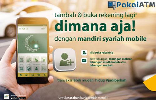 Cara Membuka Rekening Tabungan ATM Mandiri Syariah