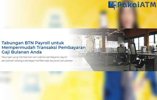 Rekening BTN Payroll