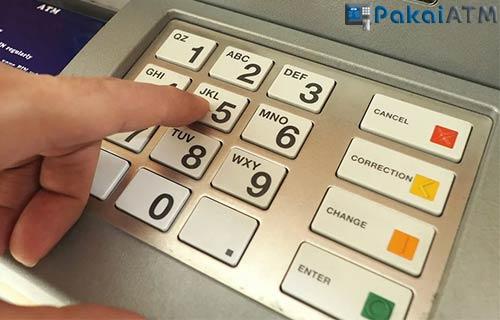 Salah Input PIN atau Nomor Rekening