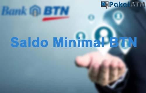 Saldo Minimal BTN Terlengkap dari Semua ATM Rekening