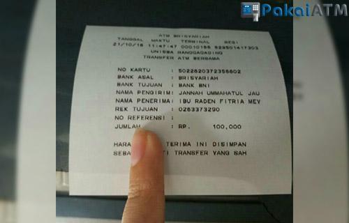 Bukti Transfer ATM