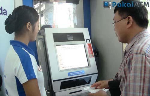 Cara Menggunakan ATM Non Tunai