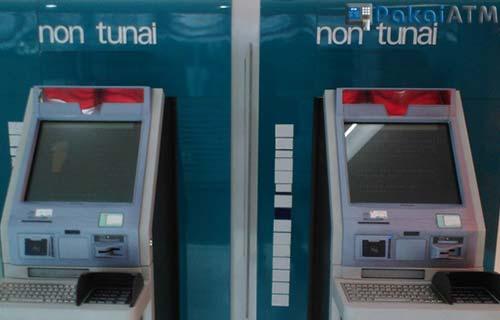 Mesin ATM Non Tunai