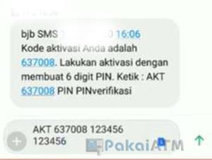 Cara Aktivasi SMS Banking BJB