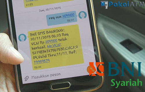 Cara Daftar SMS Banking BNI Syariah Lewat ATM