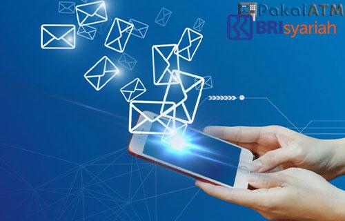Cara Daftar SMS Banking BRI Syariah di ATM Bank