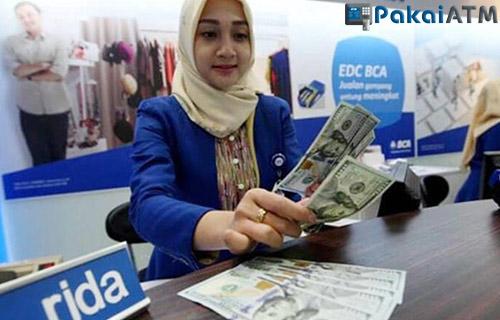 Cara Tarik Tunai BCA Dollar lewat Teller