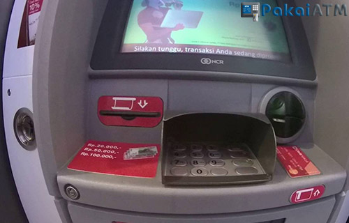 Cetak Bukti Transfer CIMB Niaga lewat ATM Lain