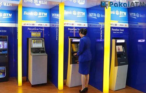 Cetak Bukti Transfer lewat Mesin ATM BTN Lain