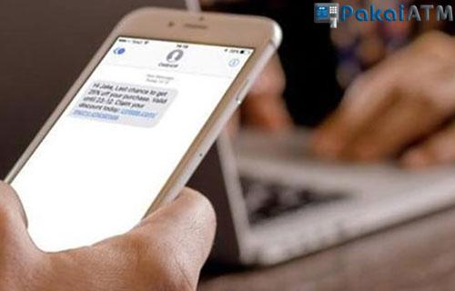 Fitur Transaksi SMS Banking BRI Syariah