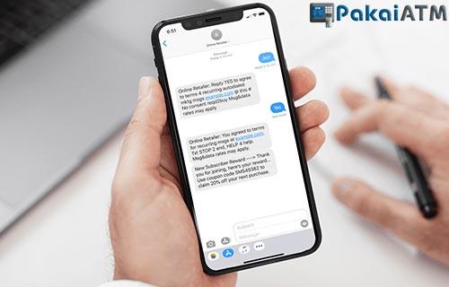 Format SMS Banking BJB