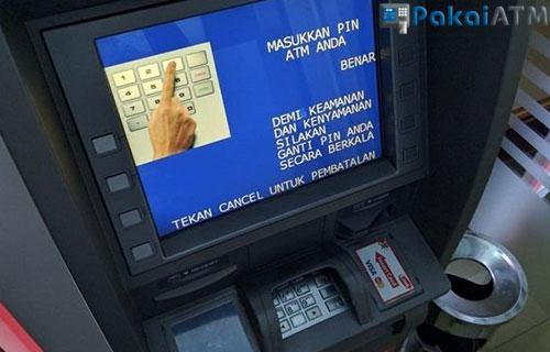 Cek di Mesin ATM BRI