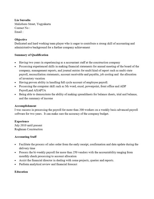 Contoh Summary Bank Mandiri