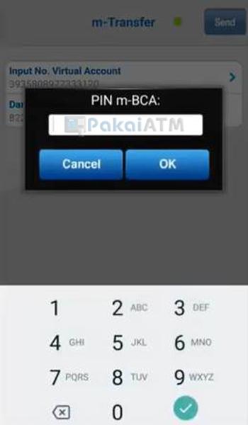 Masukkan PIN m BCA