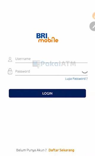 Masukkan Username Password Baru