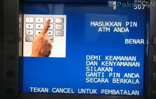 3. Masukkan PIN ATM BRI