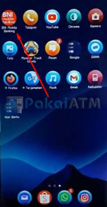 Buka Aplikasi BNI Mobile Banking