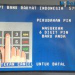 Cara Ganti PIN ATM BRI di Mesin ATM