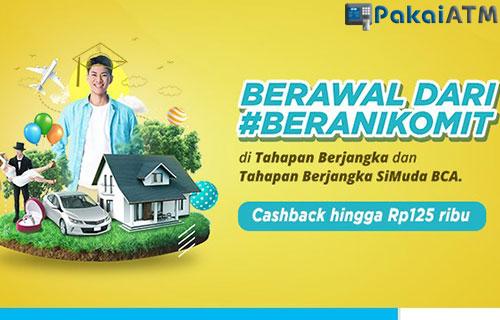 Cashback Tahapan Berjangka BCA