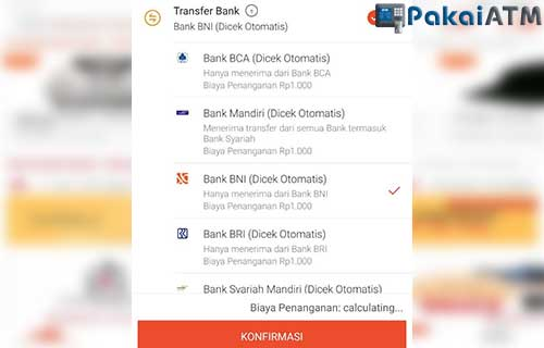 Gunakan Metode Pembayaran Transfer Bank BNI