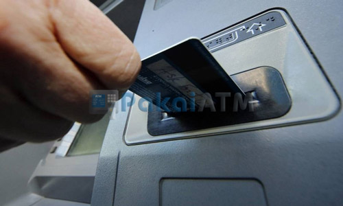 Masukkan Kartu ATM BNI