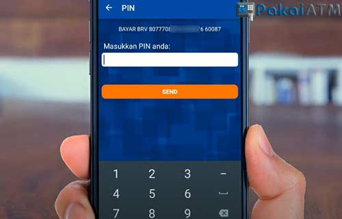 Masukkan PIN BRI Mobile