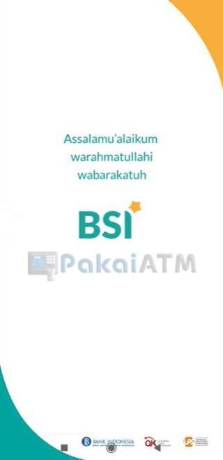 1 Buka Aplikasi BSI Mobile Banking