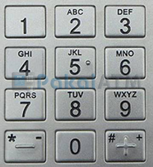 1. Fungsi Tombol Angka Mesin ATM