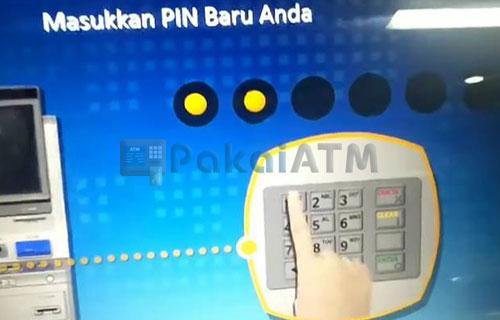 11. Masukkan PIN Baru