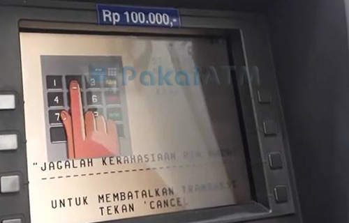 3. Masukkan PIN Pilih Bahasa
